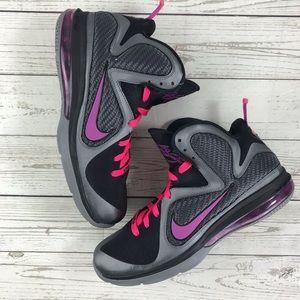 Nike Lebron IX Miami Knights Cool Grey 469765 002